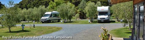 Bay of islands campervans
