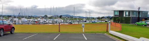 RV Explorer - Marsden Cove Marina Carpark