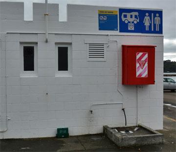 Toilets and public dump station